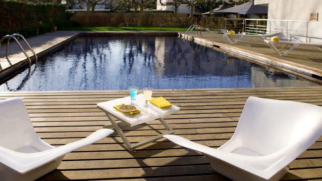 Swimming pool of the hotel Magnolia, Salou
