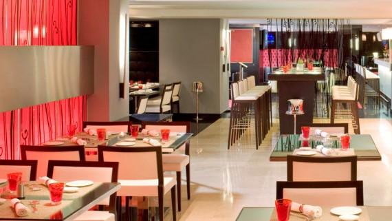 UNO Restaurant of the Meliá Madrid Princesa Hotel