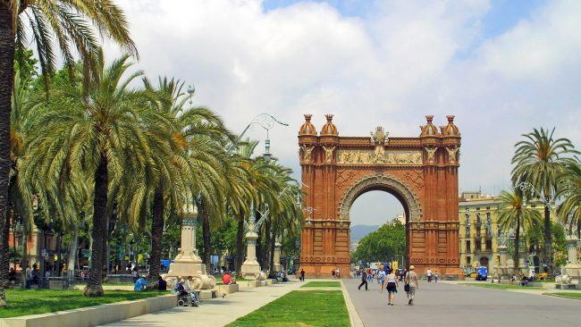 Arc de Triomphe Monument, Barcelona