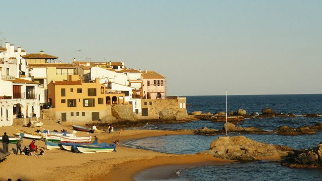 Tourism in Calella, province of Barcelona