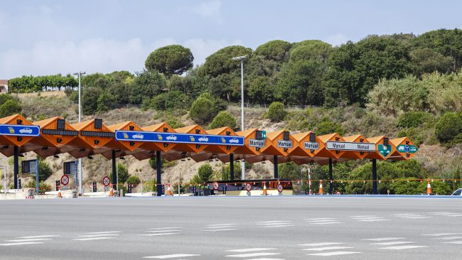 Tolls to travel to Barcelona
