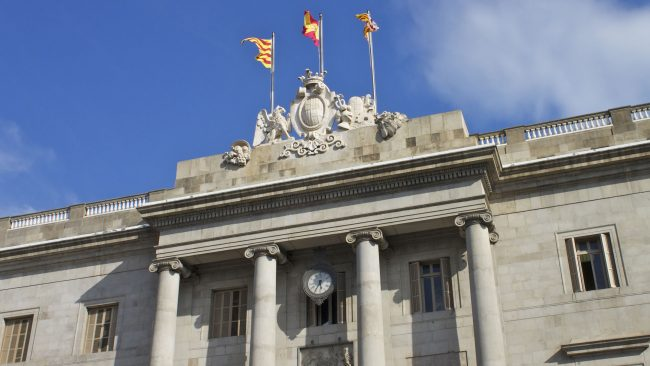 The Town Hall or House of the City of Barcelona