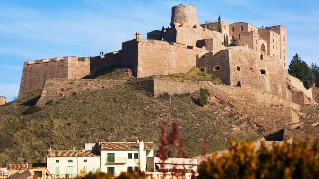 Cardona Castle in the region of Bages, Catalonia