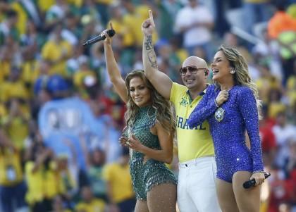 Cérémonie d'ouverture mondiale du Brésil 2014