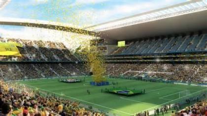 Arena Corinthians Brésil 2014