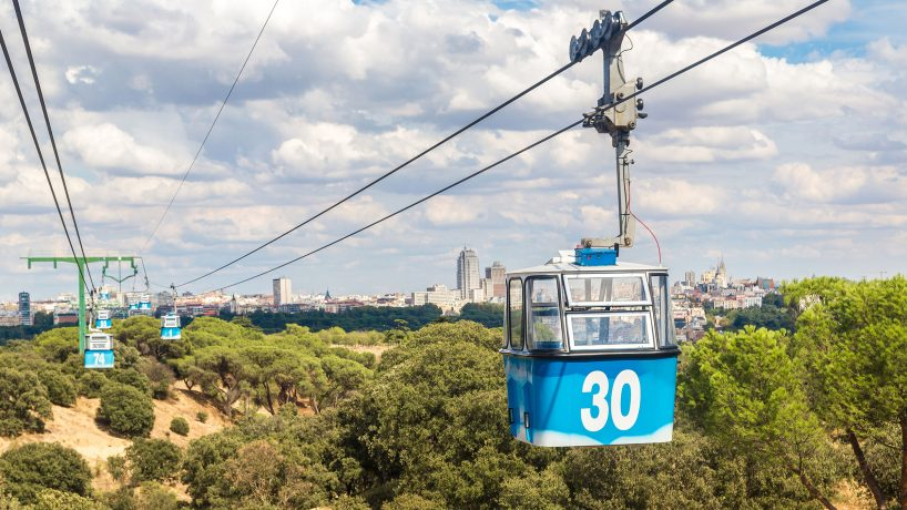 1576603599 The Madrid cable car address price how to get there
