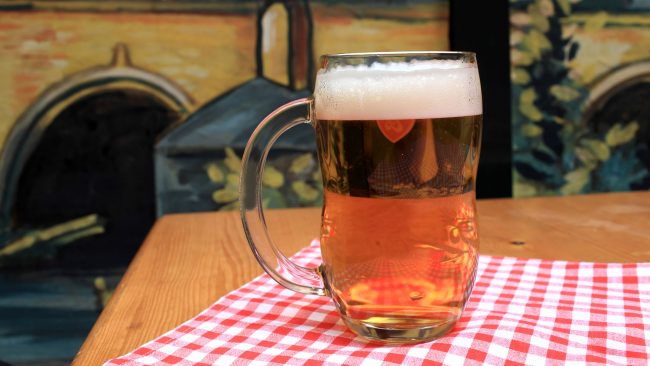 Beer, the favorite drink of the Czechs
