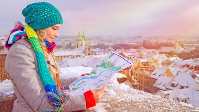 Travel to Prague in winter