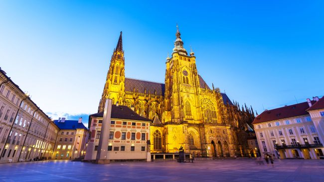 Prague Castle, the largest in the world