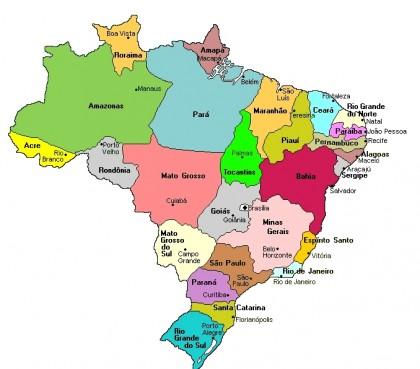 Lieux de la Coupe du monde 2014 au Brésil