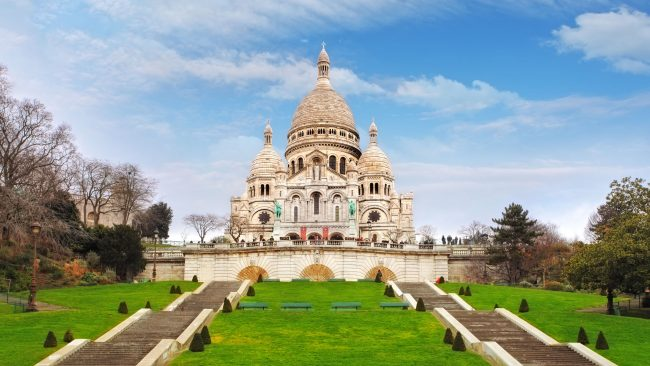 Basilica of the Sacred Heart in Montmartre, Paris