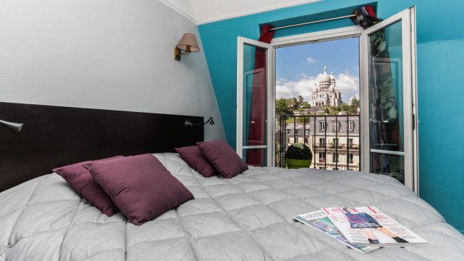 Le Regent Hostel in the Montmartre district, Paris