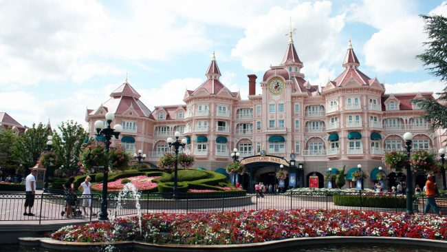 The Disneyland Paris hotel