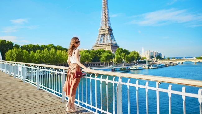 Visit Paris during the summer months