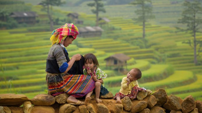 Road to poverty eradication in China