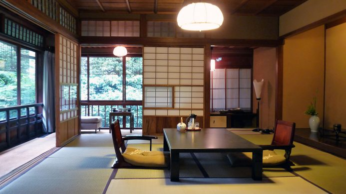 Example of typical Japanese ryokan