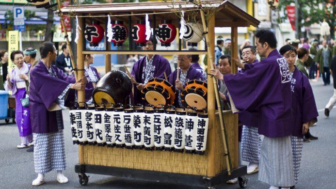 Kanda Matsuri festival celebration in Tokyo