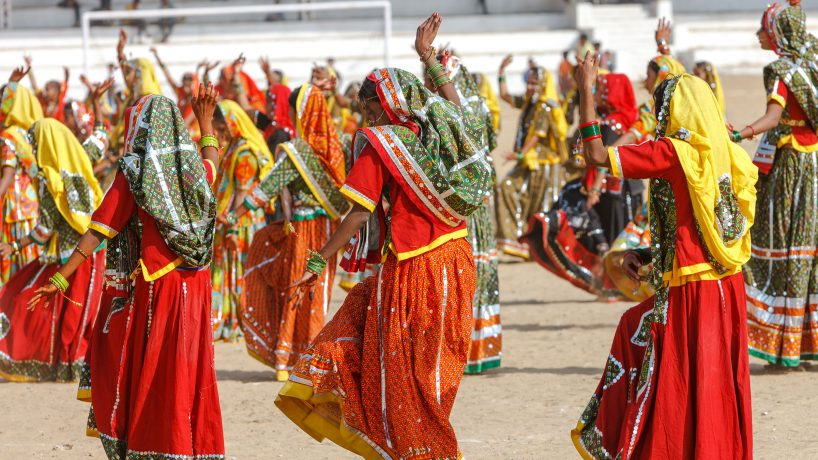 The folk and exotic dances of India