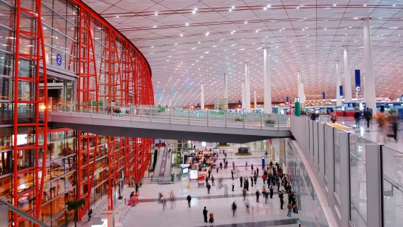 Beijing Airport, China