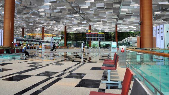 Aéroport de Changi, Singapour