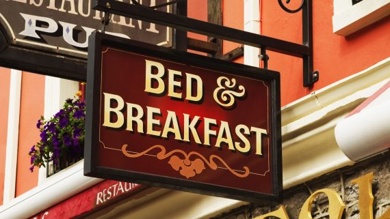Staying in a Bed & Breakfast in London