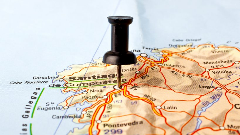 Maps of Galicia Spain