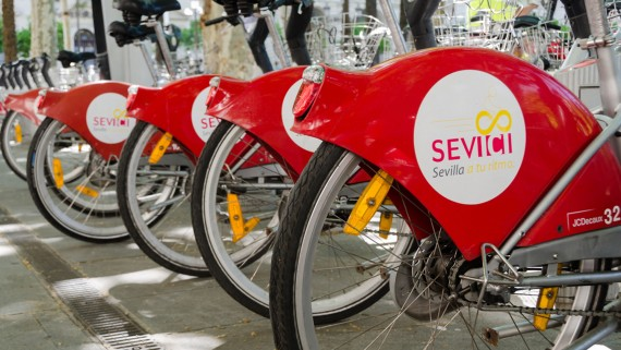 SEVIci, the public bicycle service of Seville