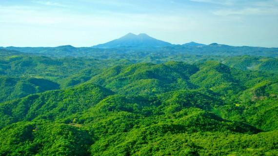 Chinchontepec or San Vicente volcano