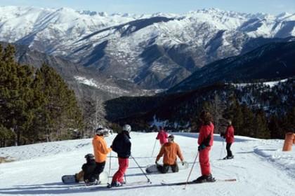 skiing in Espot Ski
