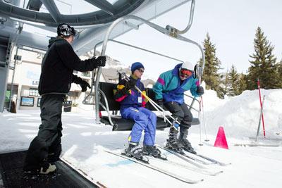 Ski resorts in France