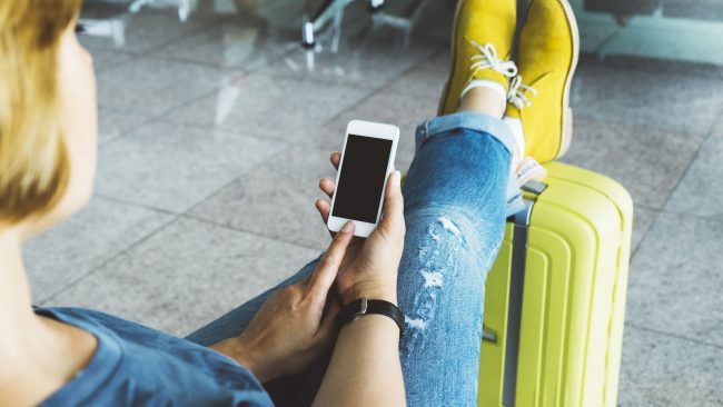 Vueling app for mobile devices