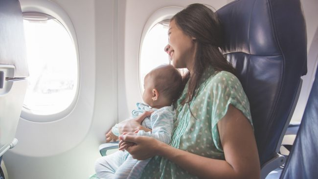 Vueling and traveling with babies
