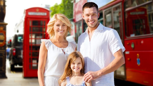 Use London public transport with children