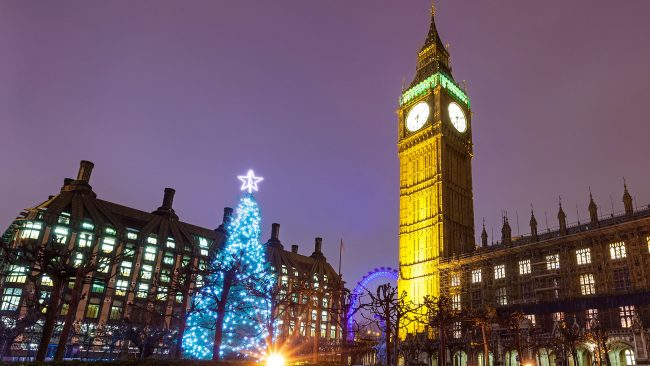 Christmas in London: a magical time