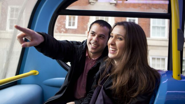 The tourist bus as an alternative to get to know London
