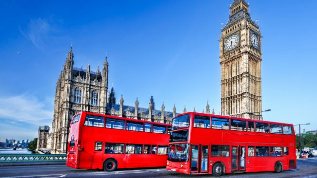 The red bus: London icon