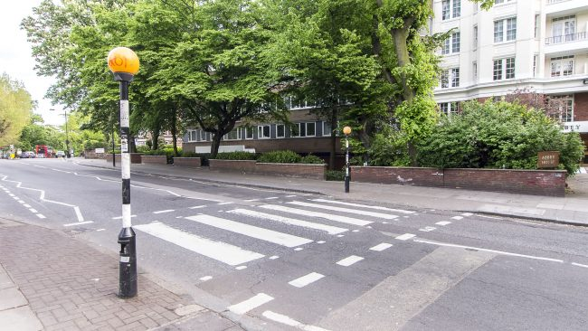 Abbey Road: the world's most famous zebra crossing