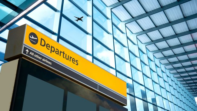 Heathrow Airport Departures Building, London