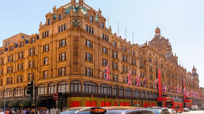 Harrods: the most famous department stores in London