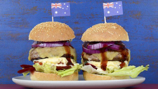 Australian style hamburgers