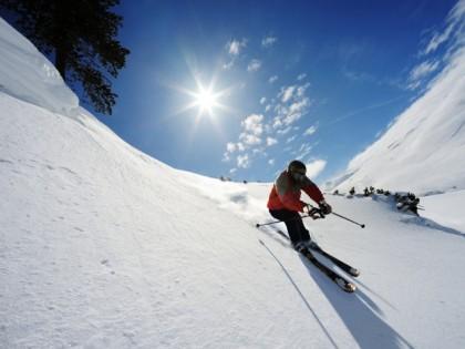 Skiing in Asturias