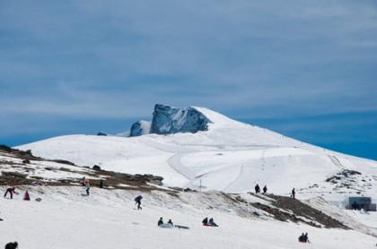Snow sports in Asturias