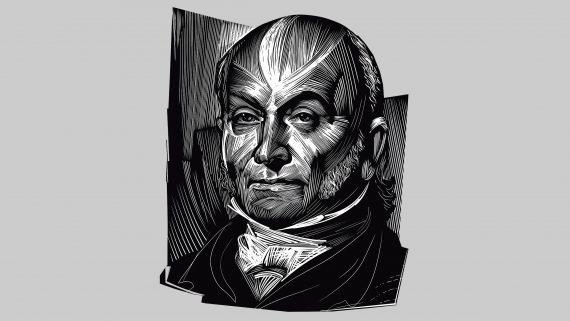 John Quincy Adams: sixth president of the USA