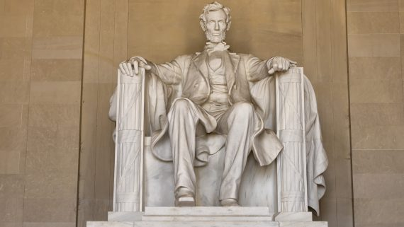 Lincoln Memorial at the National Mall in Washington DC