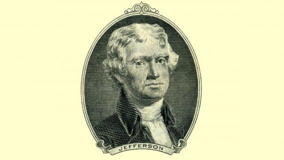 Thomas Jefferson third US president