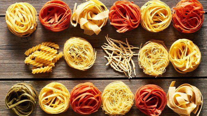 Tagliatelle or noodles