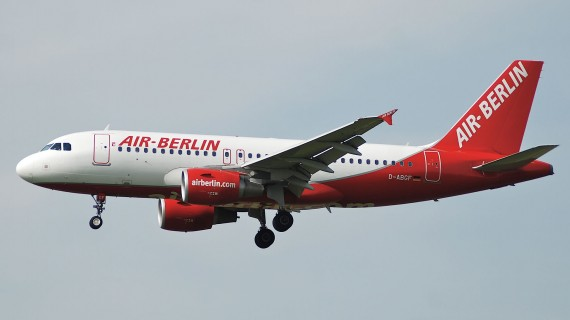 AirBerlin airline plane