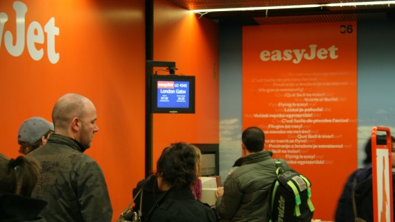 Low cost airlines: easyJet
