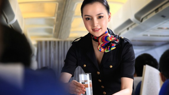 Disappearance of the catering service by plane