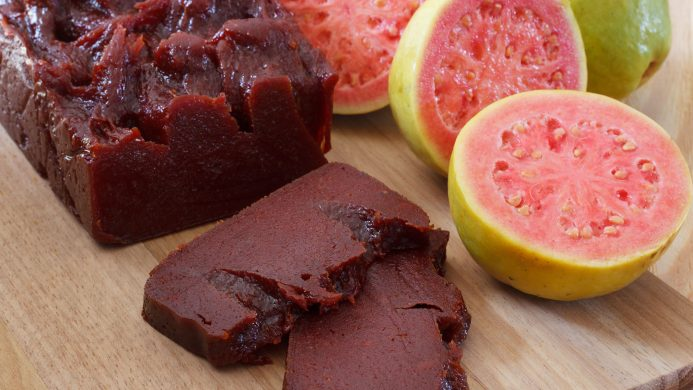 Guava candy: typical Brazilian dessert